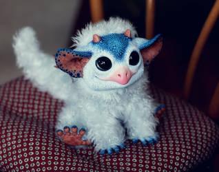 My Little Dragon: Blue Wyvern by Santani