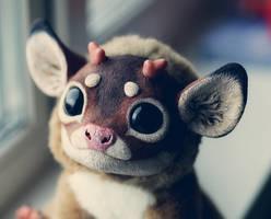 My Little Dragon: Bambi portrait