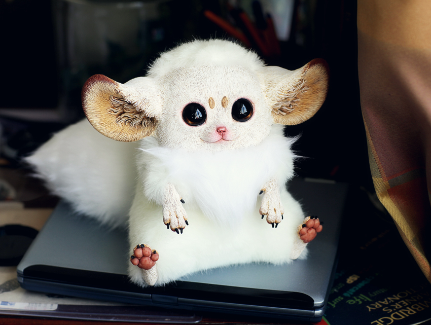 Inari Foxes: Ivory