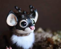 Reindeer Dragon by Santani