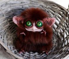 Sowl mini: Ginger fluff by Santani