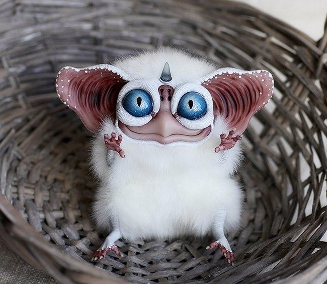 Sowl mini: Moon unicorn by Santani