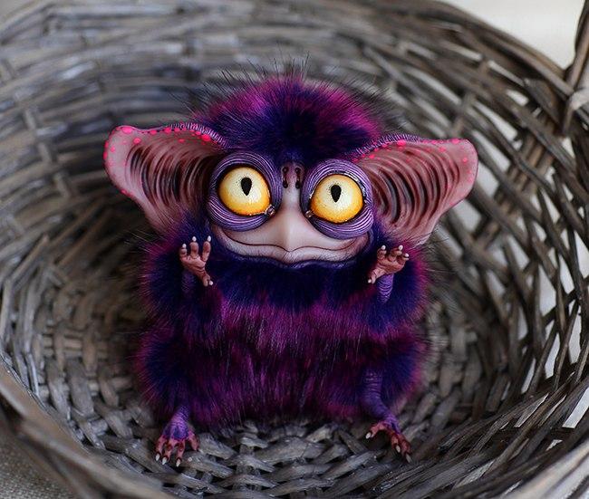 Sowl mini: purple by Santani