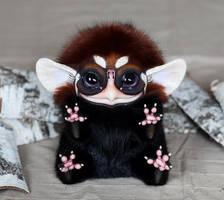 Big Ginger Owl Beast by Santani