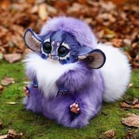 Inari Fox: Purple-blue shaman 2