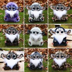 Inari Fox dolls