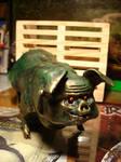 long green pig