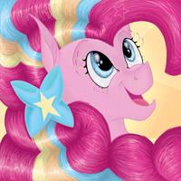 Pinkie Pie Rainbow Power by ambergerr