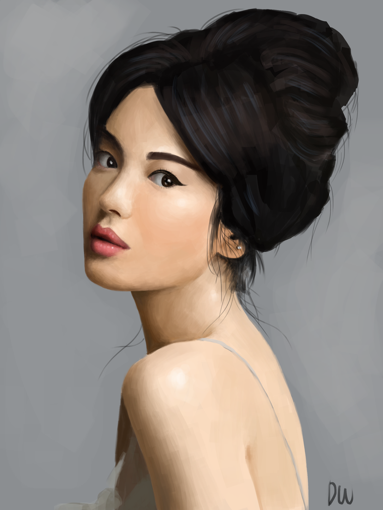 Photo Study Song Hye Kyo By Magma Claw On DeviantArt