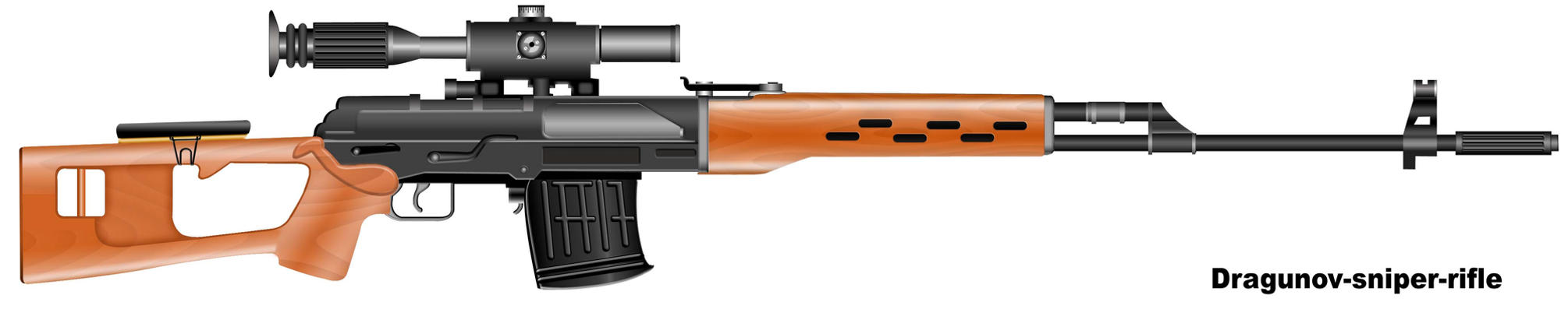 dragunov-sniper-rifle by AyanHasan
