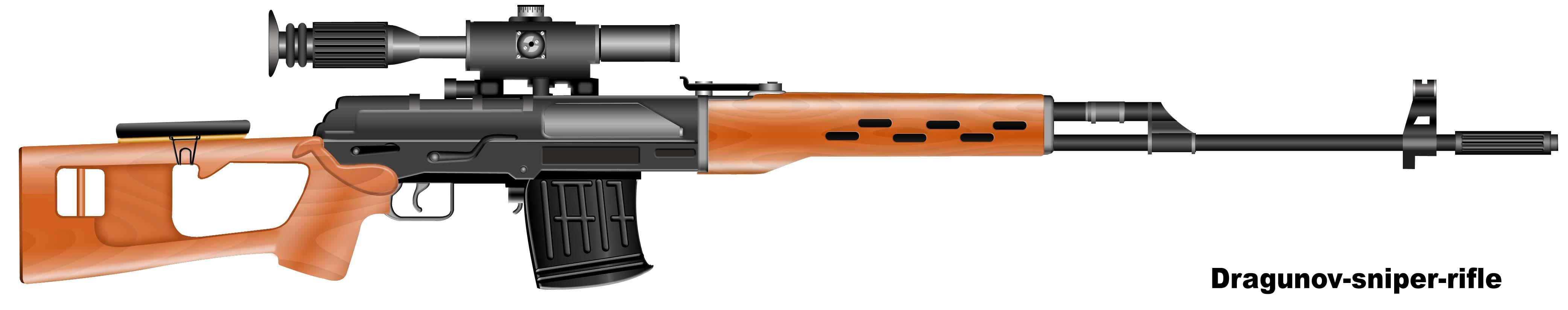 Dragunov Sniper Rifle By AyanHasan