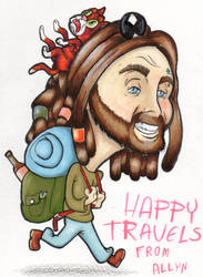 Happy Travels by sad-machine