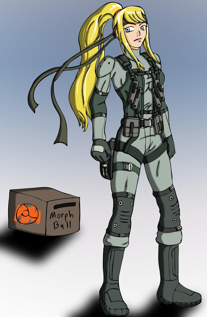 Samus as... snake by Wing-Saber