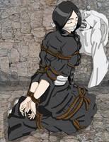 Retsu Unohana - A little nap by Wing-Saber