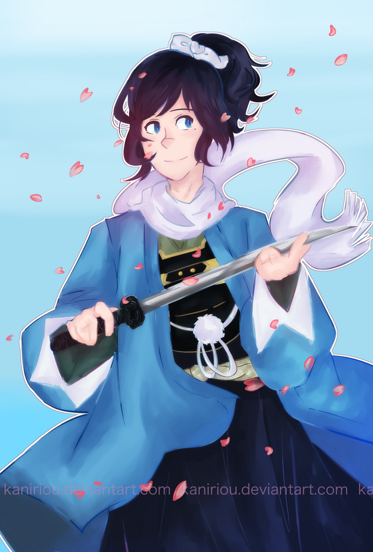 ''I'm one of Okita Souji's favorite swords'' by Kaniriou