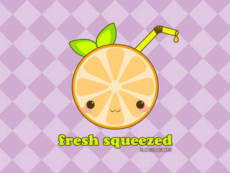 Fresh Squeezed Wallpaper by bombthemoon