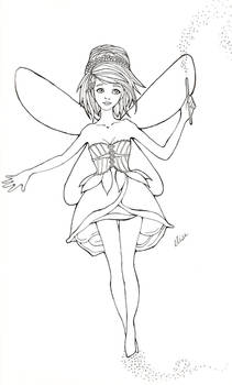 Sketch 3 - Pixie Magic