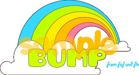 Rainbow Bump by bombthemoon