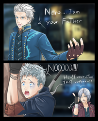 Nero Iam Your Father by Heart-tsukikage