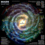 Mass Effect Galaxy Map