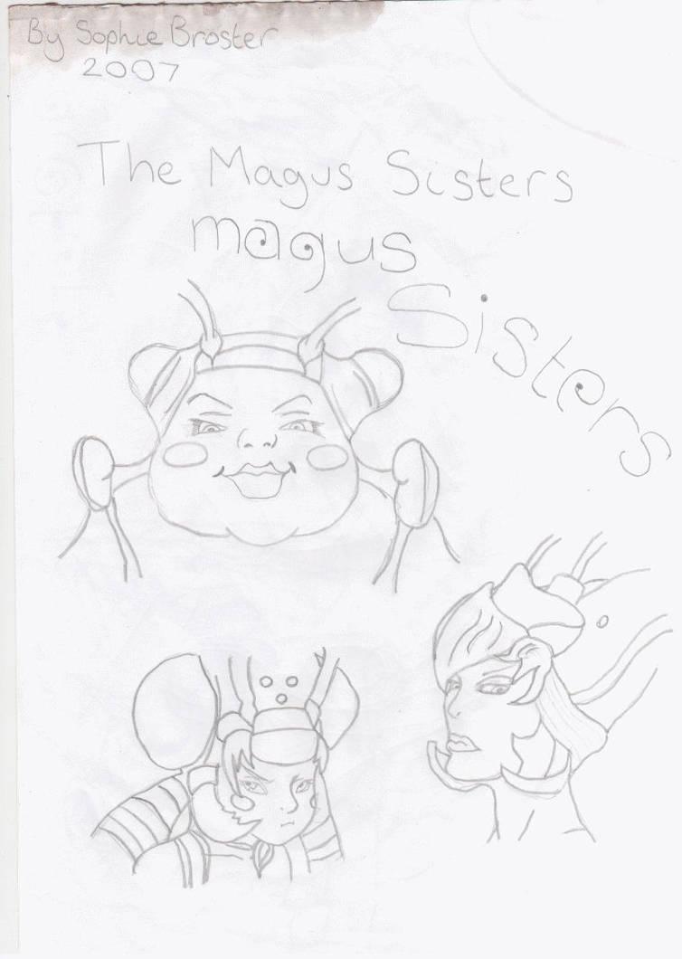 the magus sisters by SvEtLaNa73