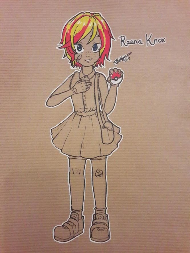 Pokemon OC: Reena by SvEtLaNa73