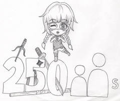 dA: 250 Watchers