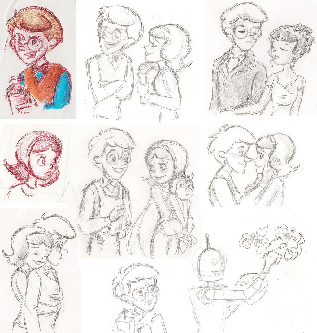 WordGirl Sketchdump of Fluff by SarcasticLeaves