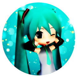 Miku Icon by CJSmileyz