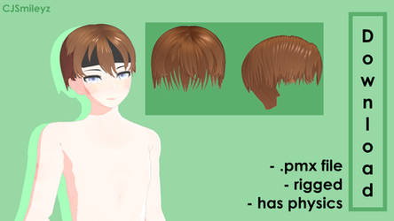 Hairs On All Of Mmd Deviantart