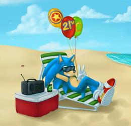 Happy 21st Anniversary Sonic