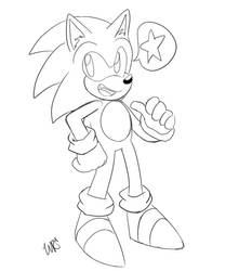 Classic Sonic Doodle