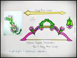 Shyflower Bow and Arrow - Keyblade Transformation