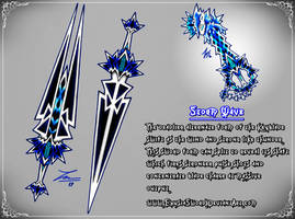 Storm Wave Keyblade Transformation (2017) by ExusiaSword