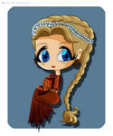 Chibi Corrin Lannister (Commission) by KayleeRedfield