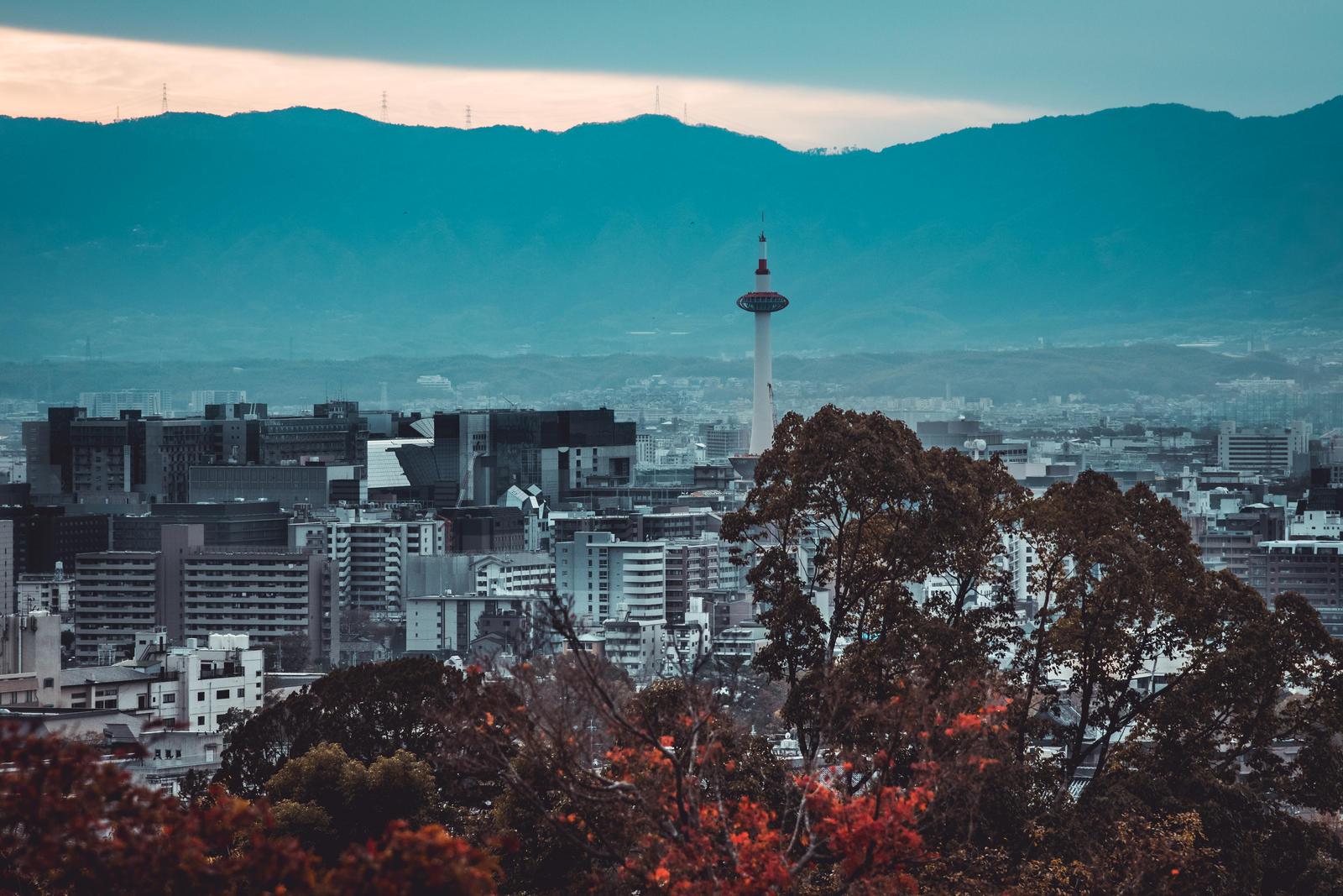 Kyoto - Skyline II