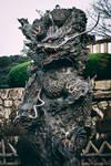 Kyoto - Dragon statue