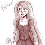 Tangled - Rapunzel sketch