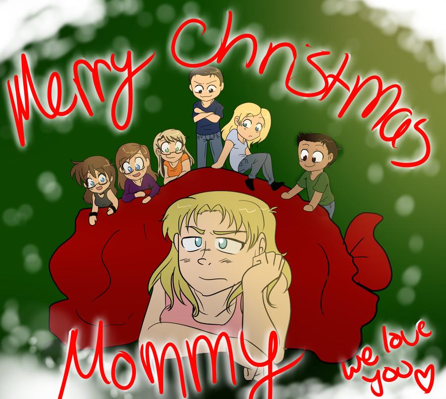 Merry Christmas Mom By Xxukarixx On Deviantart
