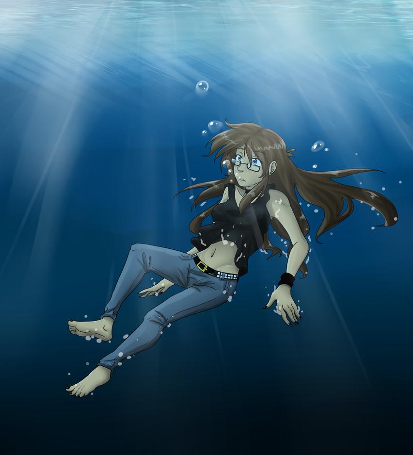 Dive2 underwater by carolriverart on DeviantArt