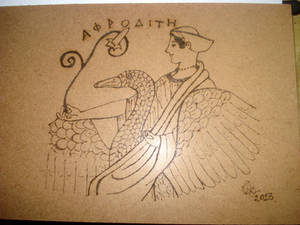 Aphrodite and Swan