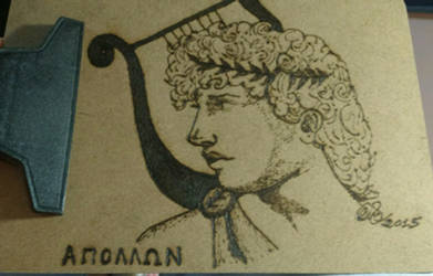 Apollon and lyre