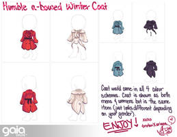 Humble a-bowed Winter coat for GAIA ONLINE