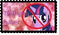 Twilight Sparkle Hater Stamp by mayamermaid