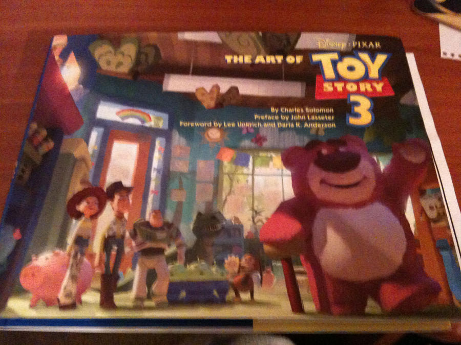 Toy Story 3 artbook by Kittychan2005 on deviantART