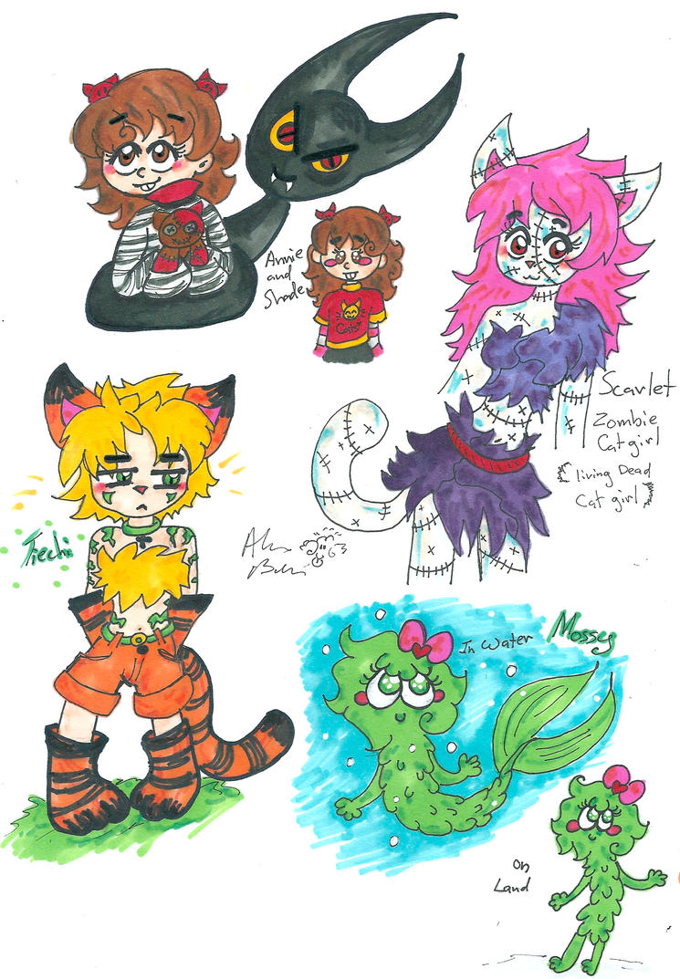 Annie Shade Scarlet Tiechi Mossy by Kittychan2005