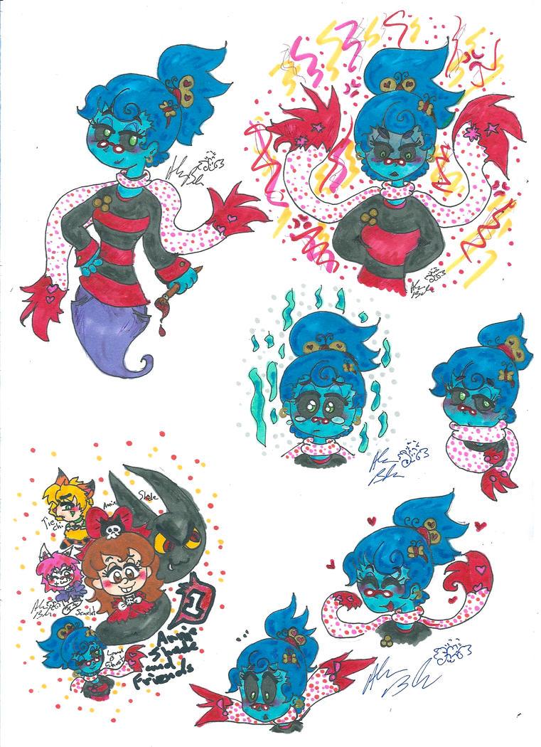 AnnieShadeandFriends ghosts by Kittychan2005