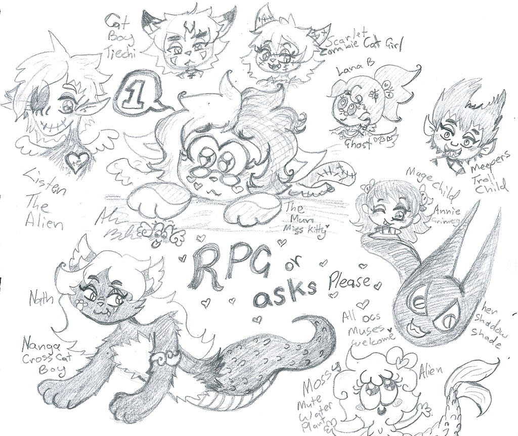 RPG or ASKs PLEASE by Kittychan2005