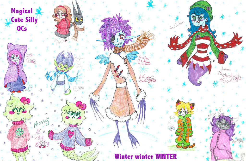 Winter magicalcuteocs by Kittychan2005