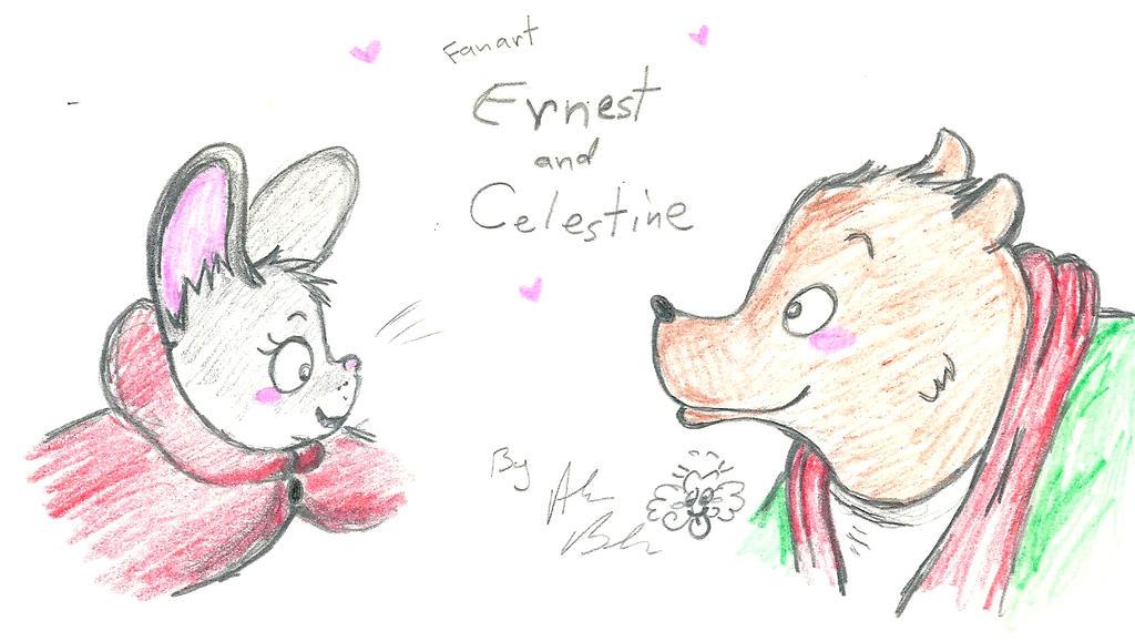 Ernest & Celestine by Kittychan2005